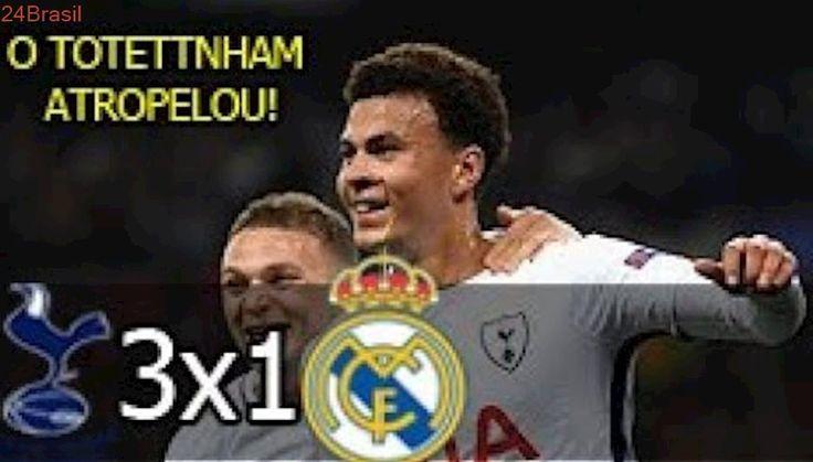 Tottenham 3 x 1 Real Madrid - Melhores momentos e Gols - Liga dos Campeões 01/11/2017