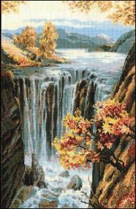 Waterfall  - Wool*