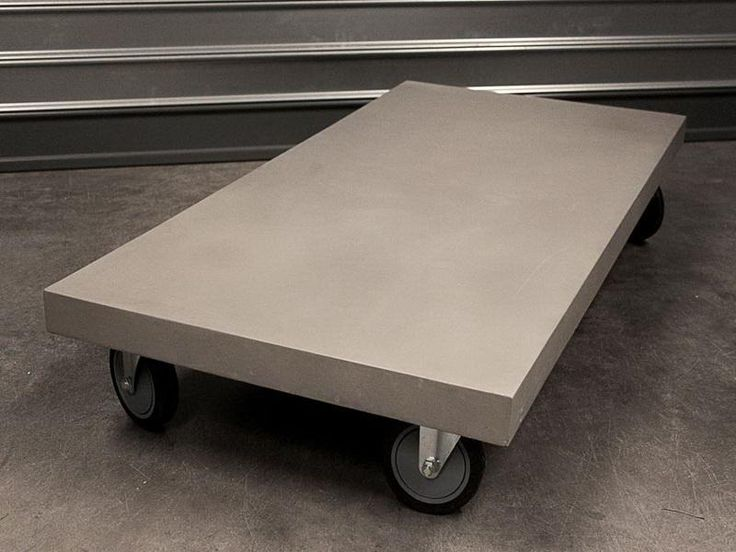 concrete table top ideas | 18 Photos of the Concrete Coffee Table: High Quality Furniture for ...