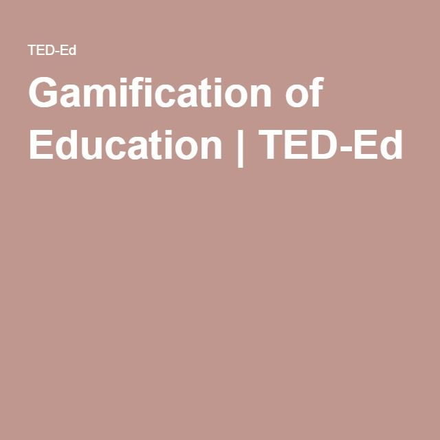 31 best virtual biology gamification images on pinterest ap gamification of education ted ed fandeluxe Images