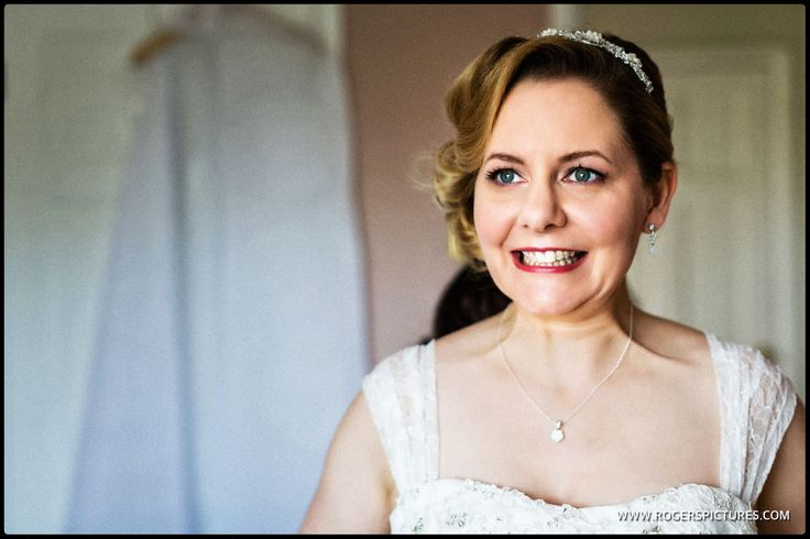Laura ready for her wedding -