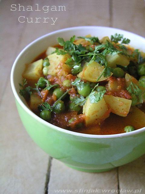 Curry z rzepy, Turnip curry, Shalgam curry