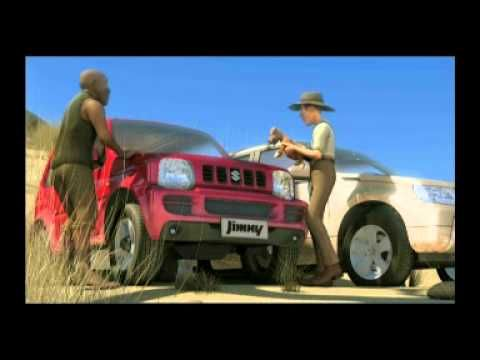 """Suzuki South Africa Commercial for the Jimny: """"Jock of the Bushveld"""""""