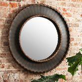 Large Black Abigail Mirror
