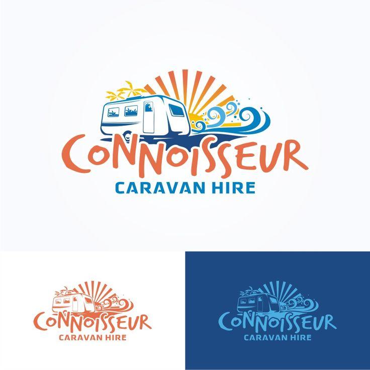 New logo for Connoisseur Caravan Hire Playful, Colorful Logo Design by Ode70