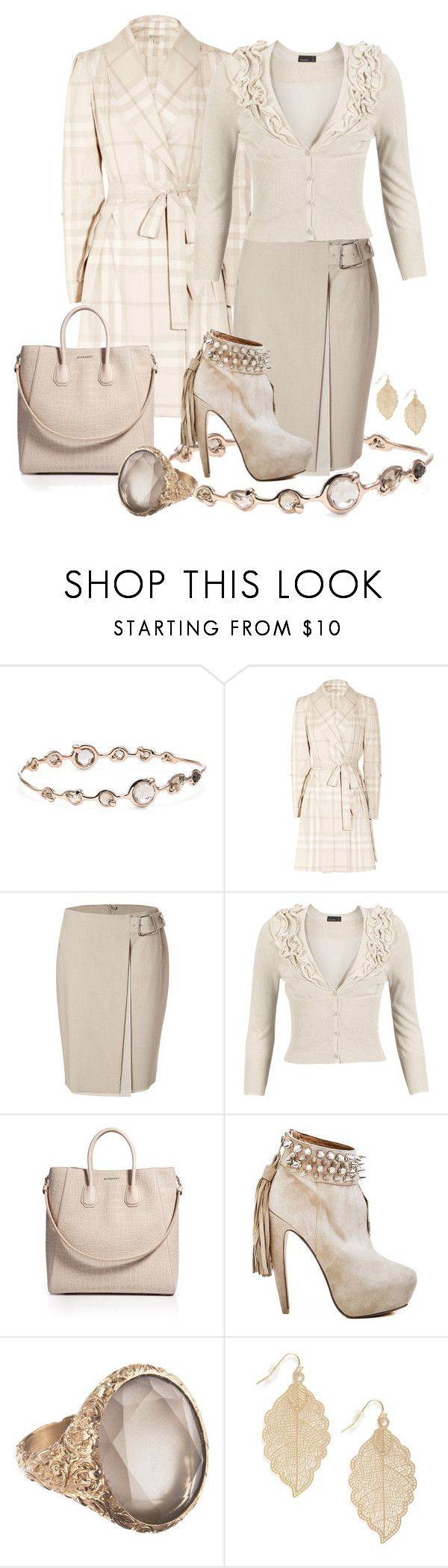 """""""Sand"""" by tracireuer ❤ liked on Polyvore featuring Ippolita, Burberry, Akris, Vero Moda, Givenchy and Anaconda"""