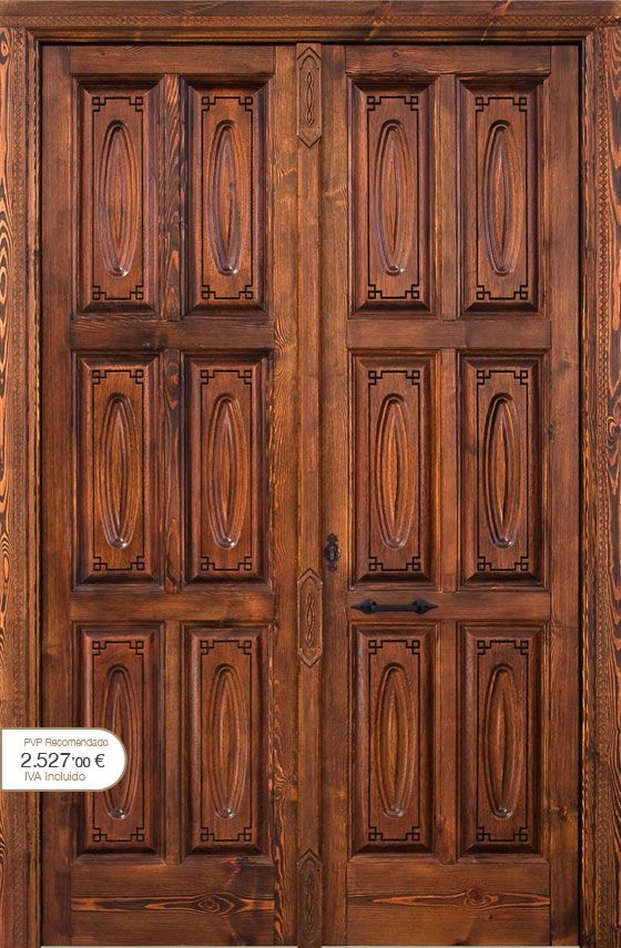 41 best puertas images on pinterest entrance doors for Catalogo de puertas