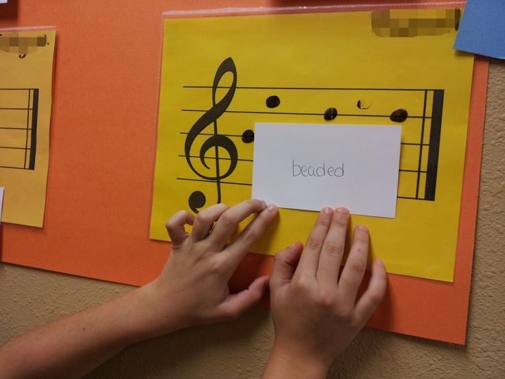 Mrs. Q's Music Blog: Treble Clef Words