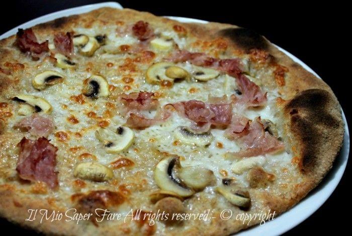 Pizza integrale impasto base