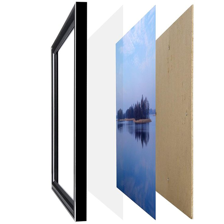 11x17 poster picture frame black legal sized