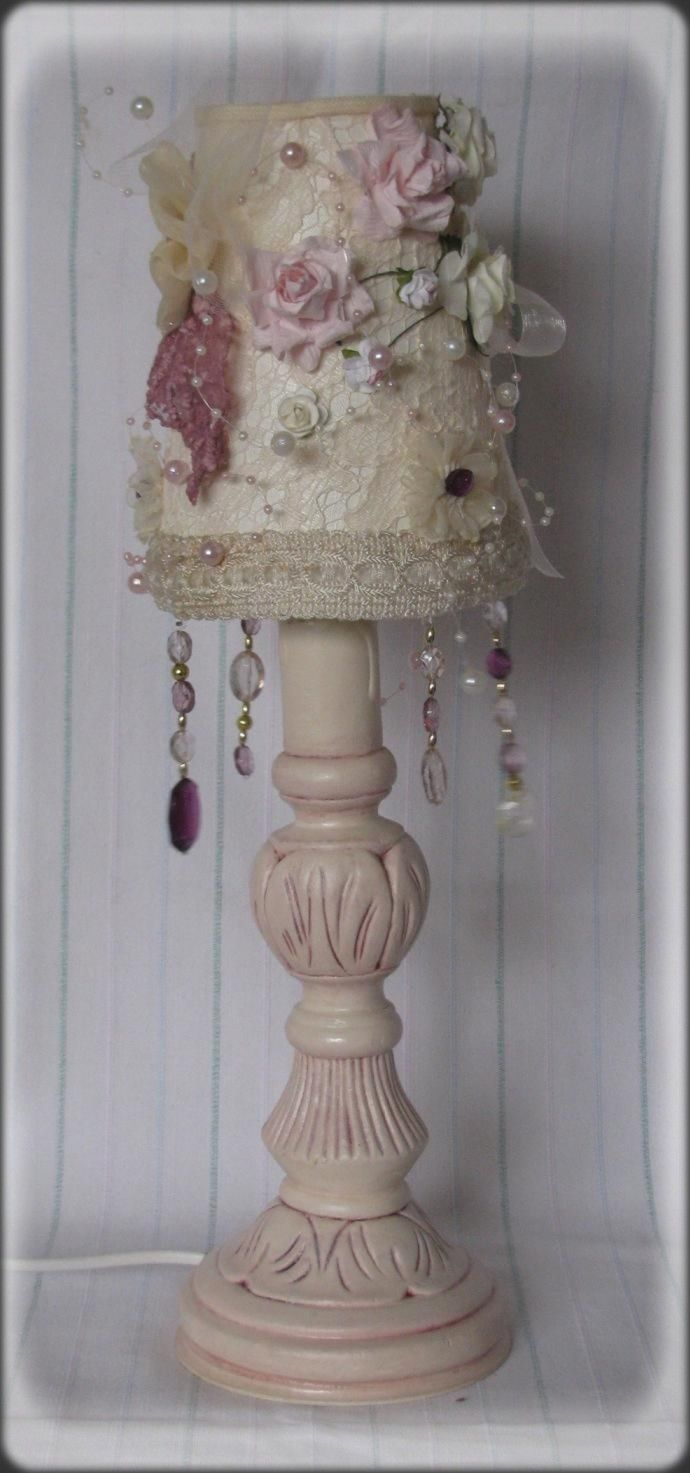 lamp - shabby chic