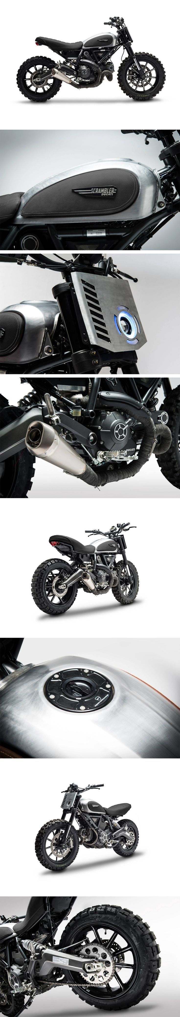 Ducati Scrambler Dirt Tracker by Gessato