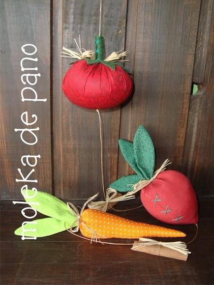 Móbile de legumes