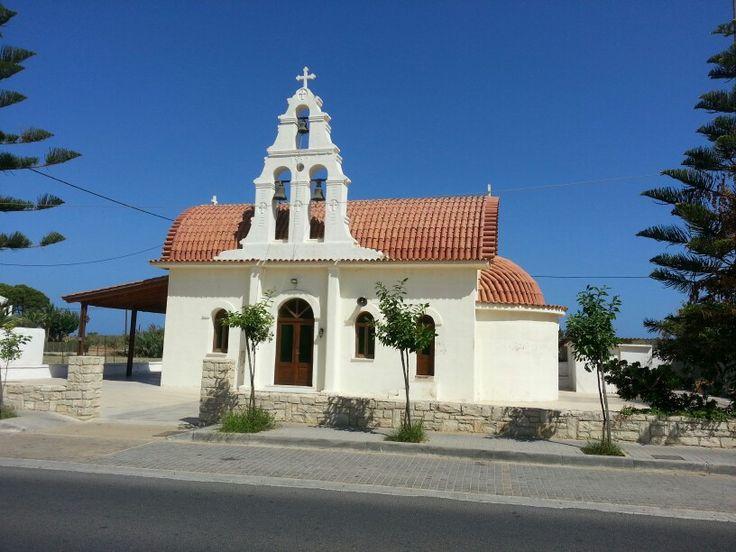 Platanias church