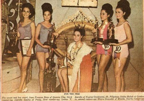 Elvira Gonzales beauty queen trivia