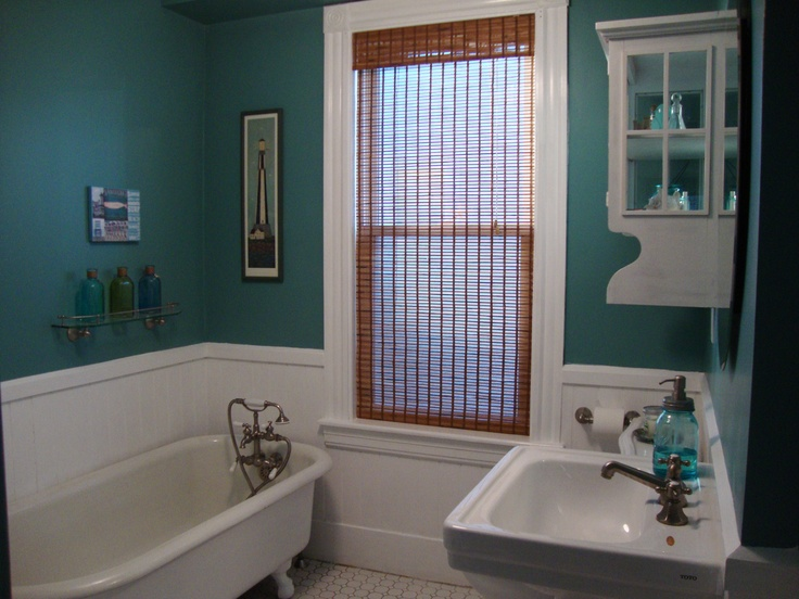Going For A Coastal Theme...paint Color Oceanus By Behr Premium. Ideas For  BathroomsBathroom ...