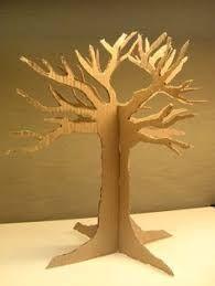 Image result for cardboard tree