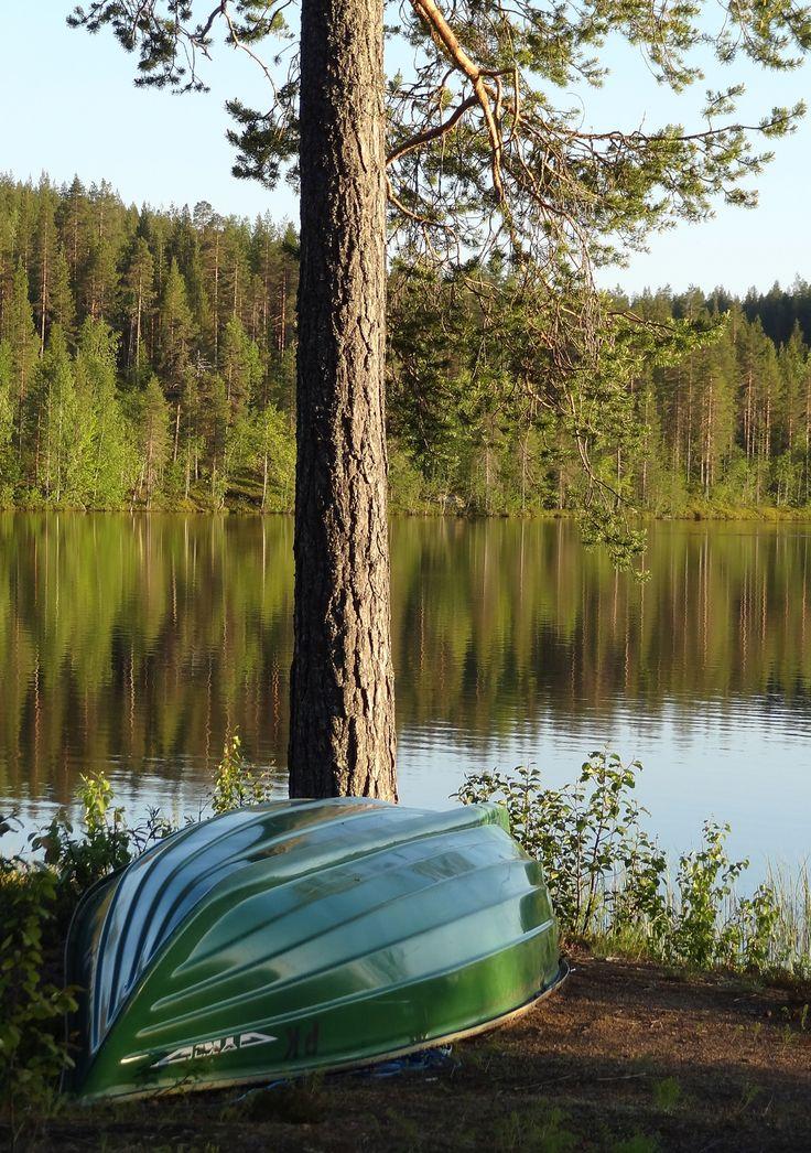 Valkeajärvi Lac à Pello en Laponie
