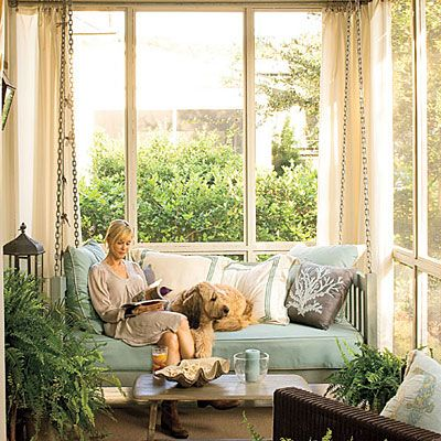Back Porch Retreat - Peaceful Porch Swings - Southern Living
