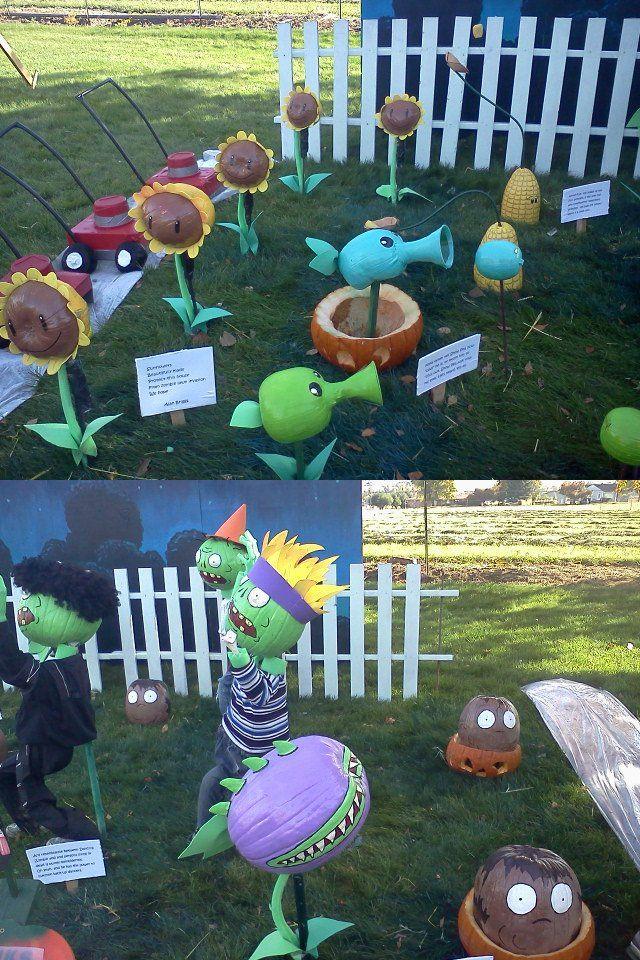 Plants vs Zombies?!
