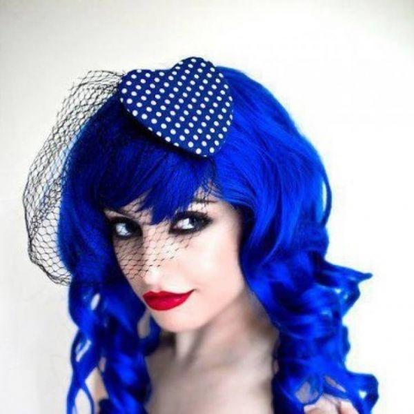 Tinte de pelo azul Manic Panic Shocking blue