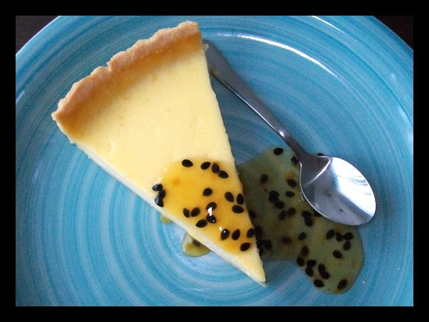 The Perfect Passion Fruit Tart