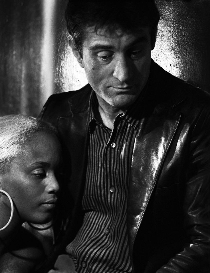 "almavio: ""Touki Smith & Robert DeNiro by Michael Tighe """