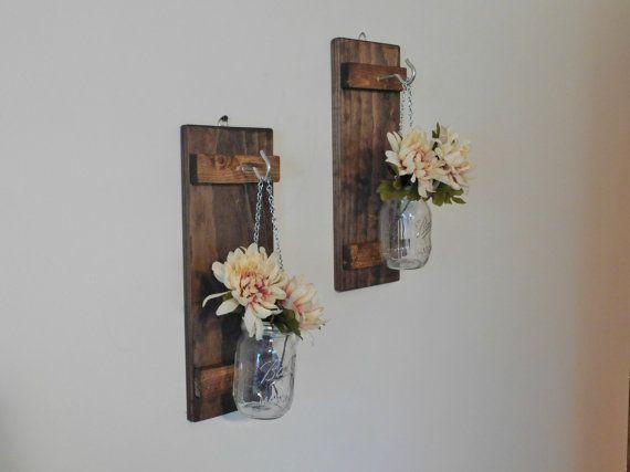 accrocher le pot mason applique fleur vase par twinoakrustics adore diy hanging mason