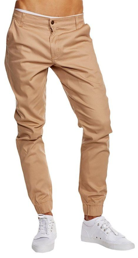 Heft Signature Men's Joggers Urban Dance (32, Khaki (Almond))