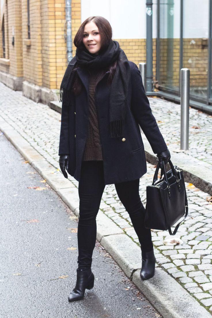 Kleidermädchen - Winter Outfit Mantel Zara