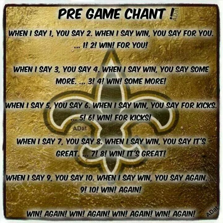 Image result for pregame football chants