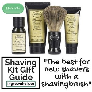 """""""The 4 Elements of The Perfect Shave combine The Art of Shaving's high-quality products, handcrafted accessories and expert shaving technique to provide optimal shaving results while helping against ingrown hairs, razor burn, and nicks and cuts. The Starter Kit offers one week's worth of essentials for a close and comfortable shave."""""""