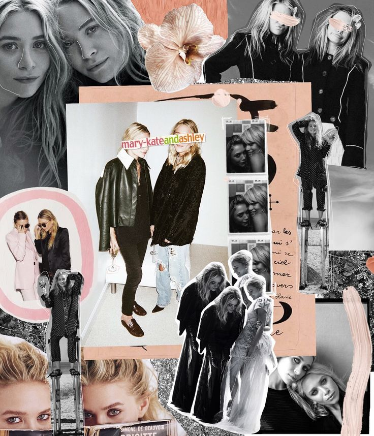 #marykateandashley #olsentwins // Labyrinth of Collages #labyrinthofcollages