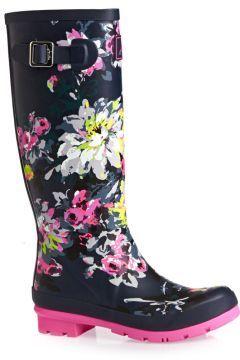 Joules Wellington Boots - Joules Printed Tall Welly - Multi Colour https://modasto.com/joules/kadin-ayakkabi/br29090ct13 #modasto #giyim