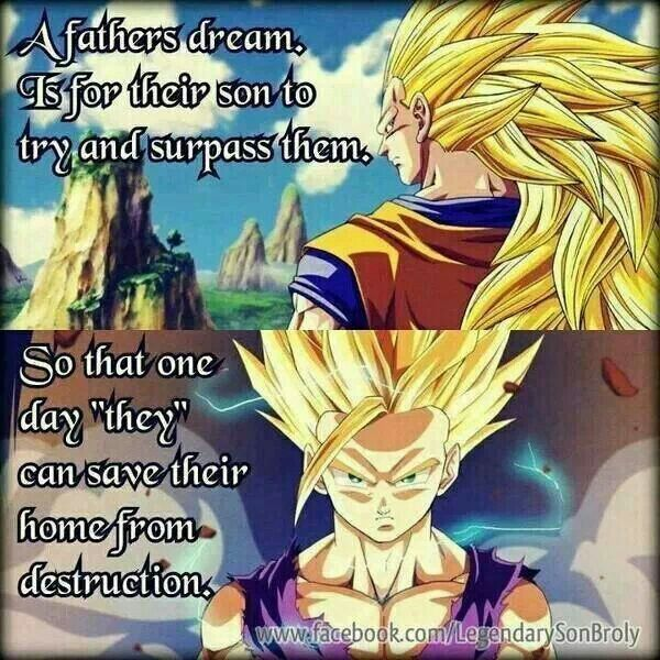 Dragon Ball Z Love Quotes : ... Dragon Ball Dbz, Dbz Father, Dragonballz, Dragon Ball Z Quotes, Dragon