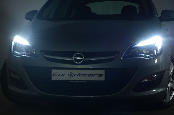 Opel Astra beautiful headlights