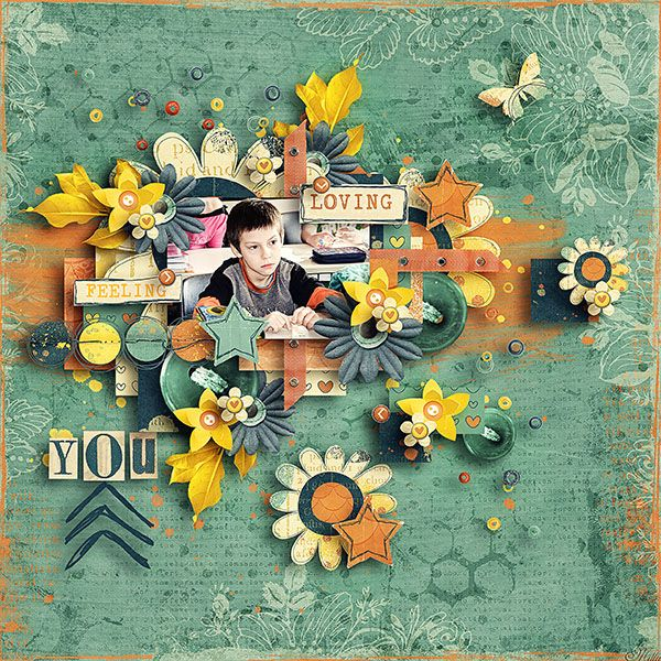 Currently...by Designs by Blagovesta template Orange dream template pack by Tinci Designs