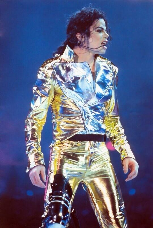 Michael Jackson during the HIStory Tour