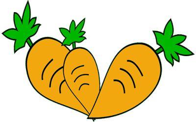 clipart gambar wortel