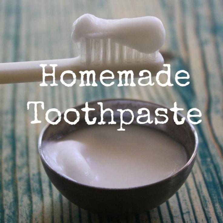 Basic Homemade Toothpaste With Baking Soda