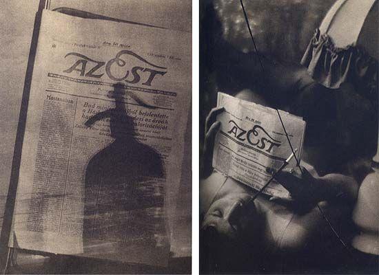 Dénes Rónai – The Evening, A Woman Holding a Cigarette, Budapest, 1929; József Pécsi – The Evening, 1927