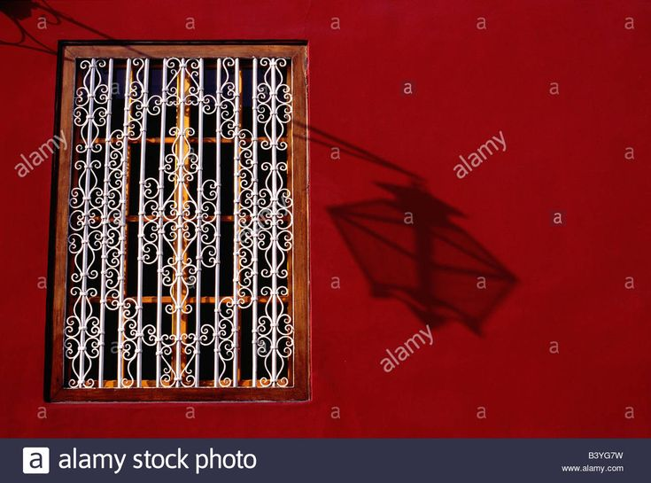 Elegant grillwork and pastel hues of a colonial mansion in Trujillo Stock Photo, Royalty Free Image: 19659805 - Alamy