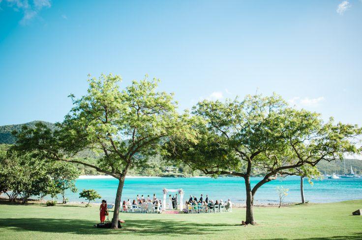 Gorgeous ceremony location at Caneel Bay Resort, St. John, US Virgin Islands