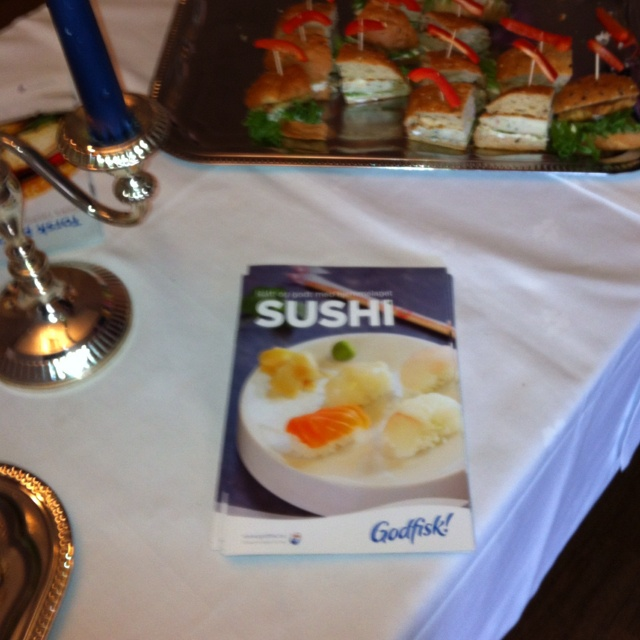 Sushi-lykke for 150 ungdommer