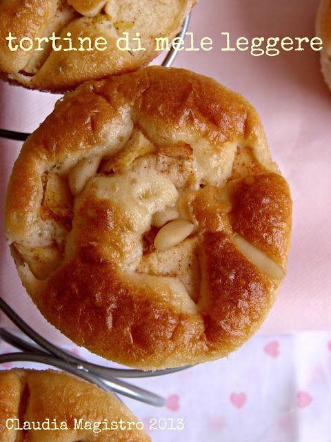 tortine leggere alle mele (solo 130 calorie)