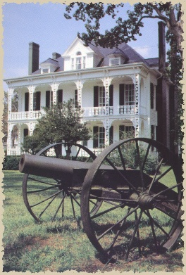 (Dr. Josephus W. Hall House, Salisbury, North Carolina.) A symbol of Old Salisbury, this beautiful house was built in 1820. In 1859, Dr. Hall moved his family into the house. Dr. Hall served as chief surgeon at the Salisbury Confederate Prison during the Civil War. The house was used as headquarters for Union commander General George Stoneman during his raid in North Carolina in 1865.