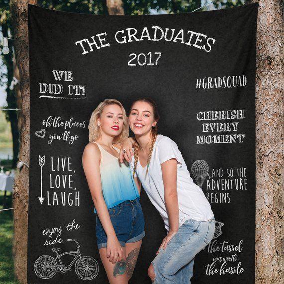 Graduation Decorations, Graduation Banner, Graduation Background, Graduation Party Background, Graduation Party Decor / H-T13-TP MAR1 AA3
