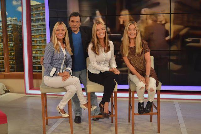 María Cielo: Las trillizas de oro estuvieron en la TV argentina...
