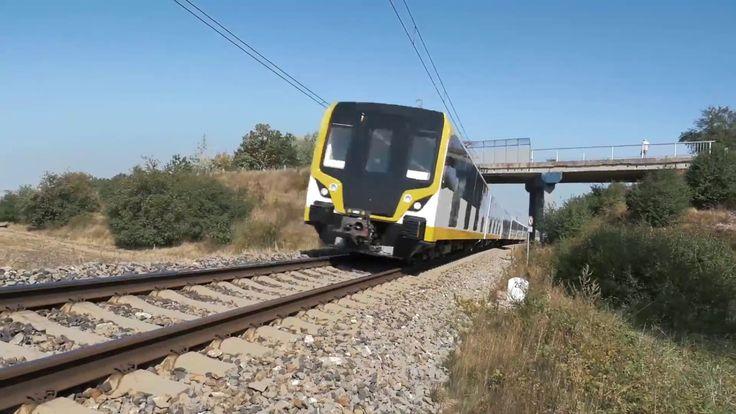 OSITRAN supervisó las pruebas a los nuevos trenes de la Línea 2 del Metr...