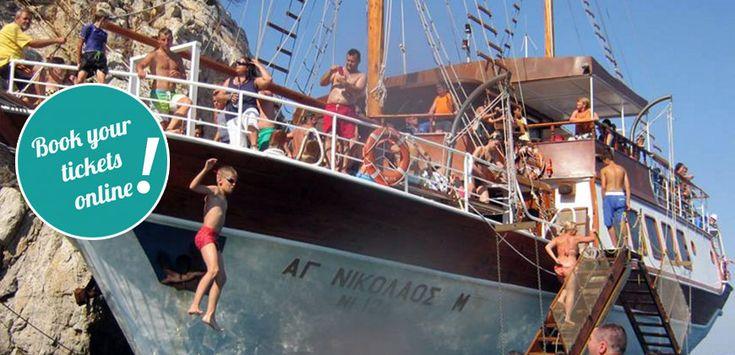 Tickets to Toroneos Cruise from Pefkochori (Tickets)  #touring #TTOT #travel #greece #Halkidiki #thingstodo #axperiences #summer